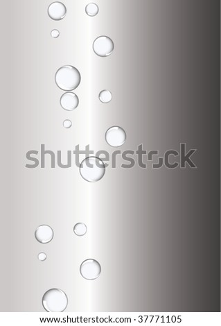 Milk and steel bubbles
