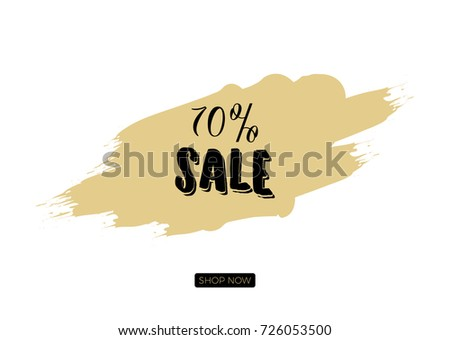 Minimalist season black friday sale board stock vector 726053500 minimalist season black friday sale board generic template of a promotion sell offer pronofoot35fo Image collections
