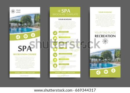 Spa Brochure Images RoyaltyFree Images Vectors – Spa Brochure