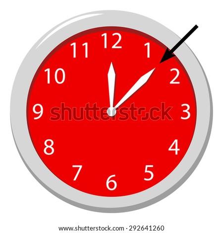 Minute - stock vector