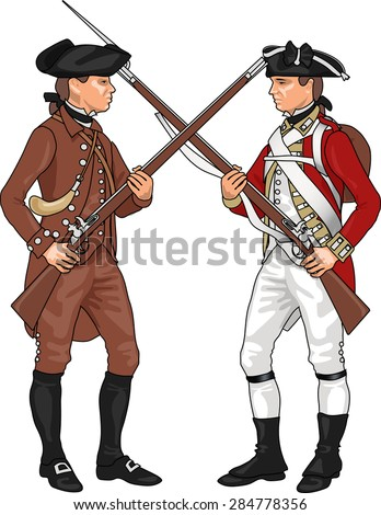 Minutemen Revolutionary War Symbol
