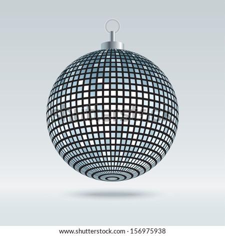 Mirror Disco Ball Vector - stock vector