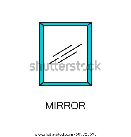 Vanity icon stock images royalty free images vectors for Mirror quality