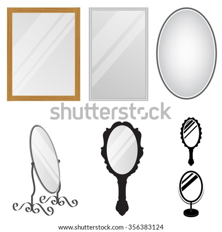 mirror reflection different clipart. mirrors mirror reflection different clipart