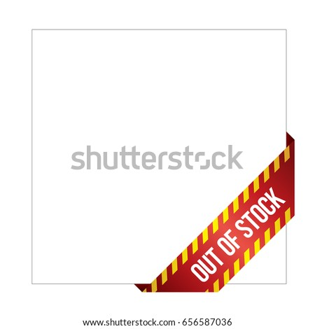 Missing Product Label Online Shops Web Stock Photo (Photo, Vector ...