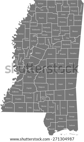 Mississippi Map Stock Images RoyaltyFree Images Vectors - Missisippi map