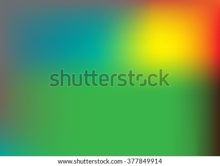 Mixed colorful gradient abstract background with green,brown and orange colors