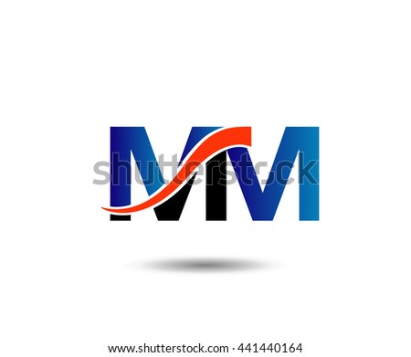 MM company linked letter logo