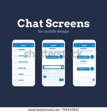 Mobile App Wire Frame UI Kit Stock Vector HD (Royalty Free ...