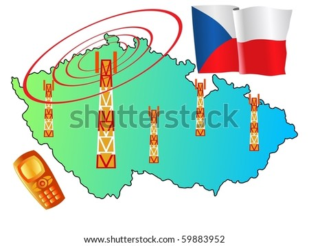 mobile connection of Czech Republic