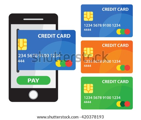 Mobile payment with Credit Cards