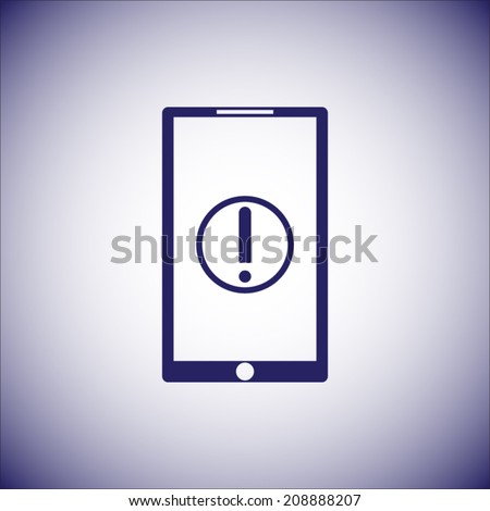 Mobile phone icon.