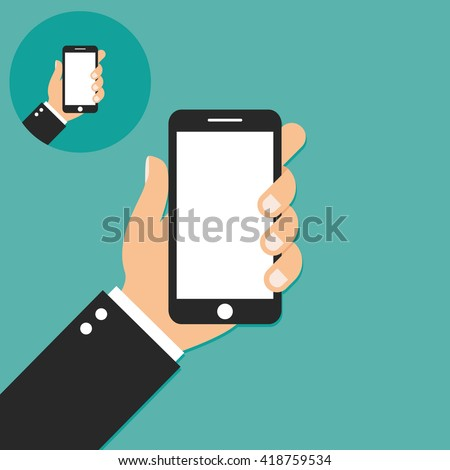 Mobile phone Icon - stock vector