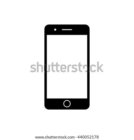 "iphone Silhouette"" Stock Photos, Royalty-Free Images & Vectors ... Iphone Silhouette Icon"