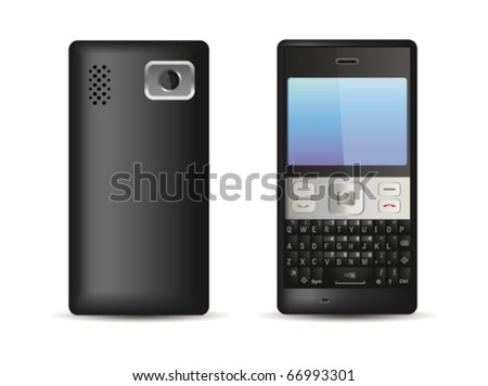 Mobile phone. Vector - stock vector