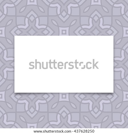 Blank Card Stock Vectors Images  Vector Art  Shutterstock