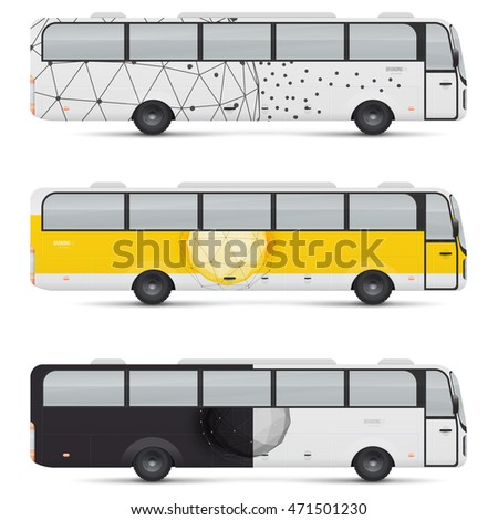 long city bus template isolated on stock vector 695865814 shutterstock. Black Bedroom Furniture Sets. Home Design Ideas