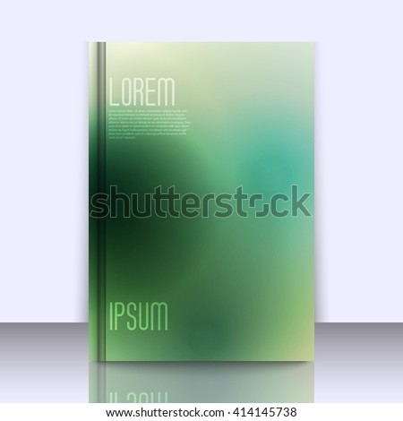 Mockup with stylish background with soft gradients, and space for text. Abstract background texture with blurred abstract gradients. Abstract background for apps, presentations or corporate use. - stock vector