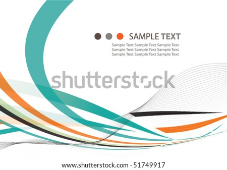 Modern abstract background illustration design