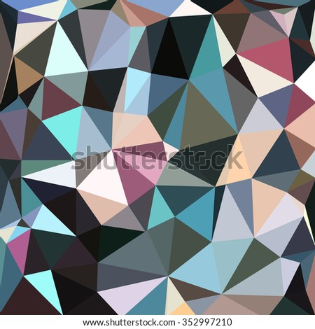 Modern abstract background with triangular.  Vector Illustration.