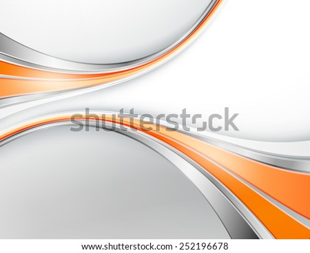 modern abstract vector background with bright  lines. Vector corporate layout for business concepts. Elements for design, presentation, brochure. Eps10 - stock vector