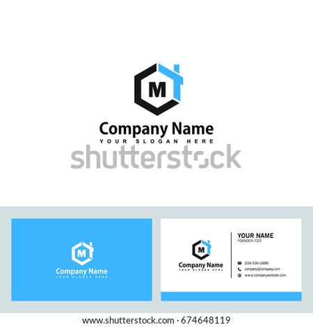 Modern And Stylish Logo Design In Vector For Construction Home Real Estate Building