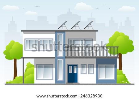 modern Architecture - stock vector
