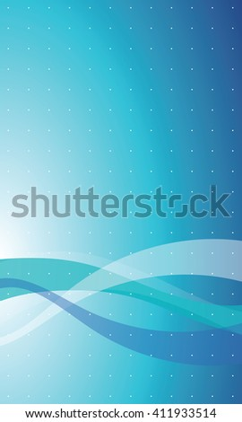Modern blue background - graphic element - stock vector