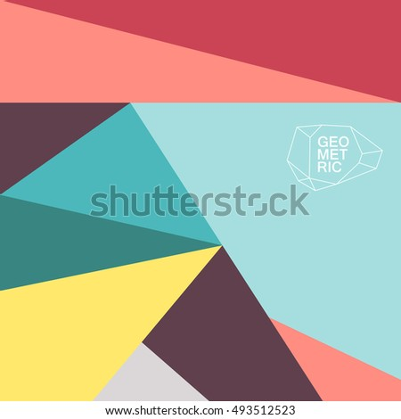 Graphic Abstract Design Poster Wallpaper Cover Card