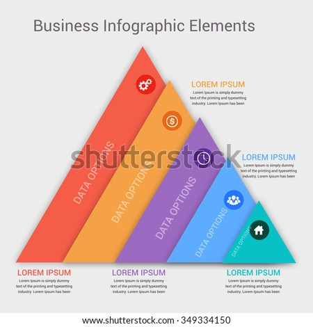 Modern business banner. Vector illustration. can be used for workflow layout, diagram, number options, step up options, web template, infographics. - stock vector