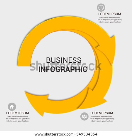 Modern business banner. Vector illustration. can be used for workflow layout, diagram, number options, step up options, web template, infographics.