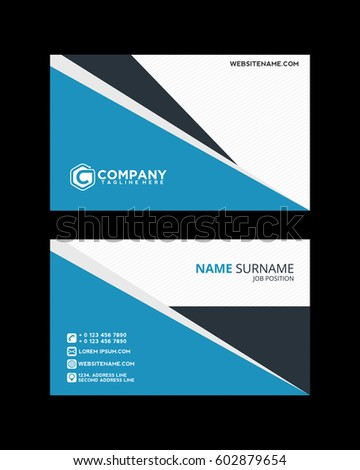 Modern Business Card 2