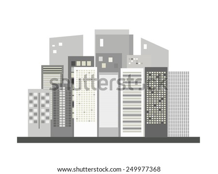 Modern Business City Concept