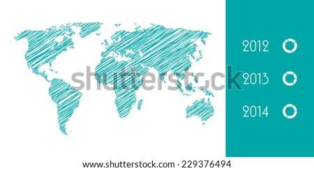 modern business infographics elements, vector illustration, EPS10 - stock vector