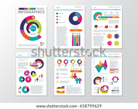 Modern Business Presentation Documents Graphics Infographic Stock ...