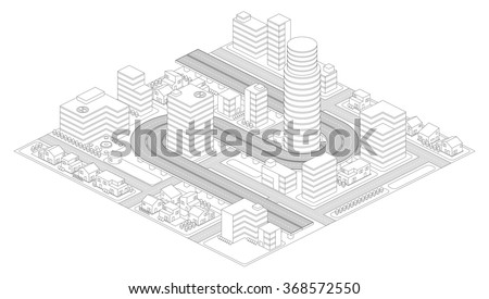 city grid stock images  royalty