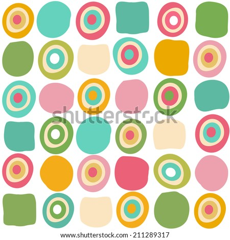 Modern colorful abstract design background vector