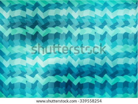 Modern colorful background with designed abstraction. Vector illustration colored geometric texture seamless pattern easy editable for Your design. - stock vector