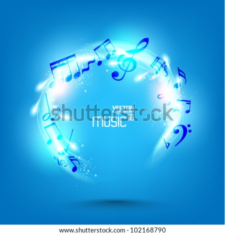 concepts of music notes