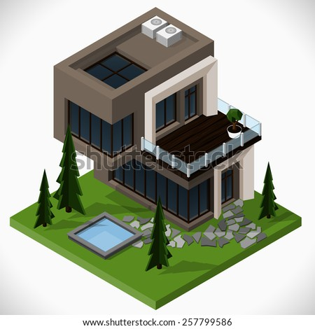 Floor Plan Editor Habbo Download Modern Country House Lawn