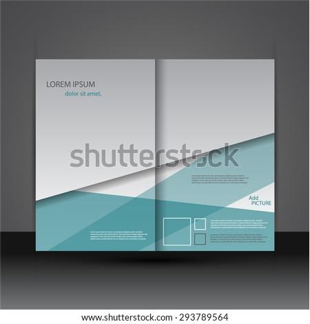 Modern creative brochure / flyer design. - stock vector