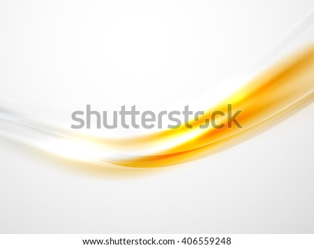 Modern curve stripes template - stock vector
