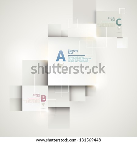 Modern Design - stock vector