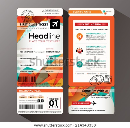 Ticket Images RoyaltyFree Images Vectors – Sporting Event Ticket Template