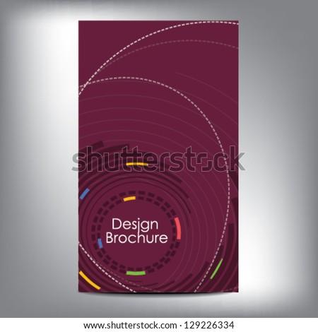 Modern Design Brochure - stock vector