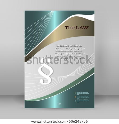 Modern Design Style Infographic Legal Law Stock Photo Photo Vector