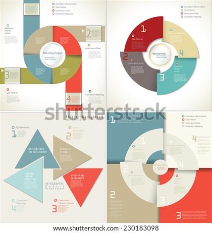 Modern Design template - stock vector