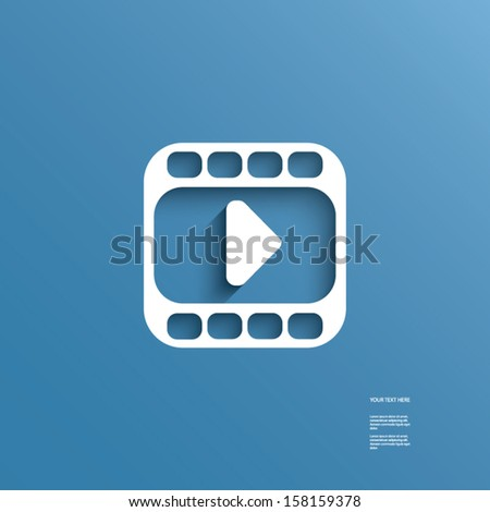 Modern design website vector button also suitable for infographics, presentations, applications, etc. - stock vector