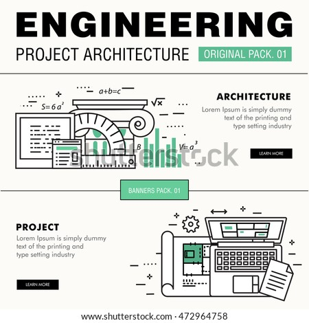 computer engineer stock images royalty images vectors modern engineering construction big pack thin line icons architecture professional projects drawing future production