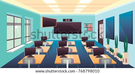 Classroom stock images royalty free images vectors shutterstock for Interior design requirements of education